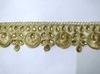 Тесьма декоративная UM103-41 (золото)