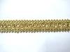 Тесьма декоративная 102340-41 (золото)