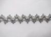 Тесьма декоративная 5176-42 (серебро)