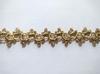 Тесьма декоративная 5176-85 (красное золото)