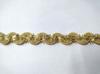 Тесьма декоративная  8030/55178-41 (золото)