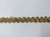 Тесьма декоративная  8585-77 (темное золото)