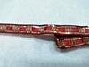 Тесьма с пайетками декоративная TDP3-39-8Y (бордо)