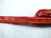 Тесьма с пайетками декоративная TDP3-4-8Y (красный)
