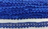 Кружево гипюр 206-11 (синий) Цена за 9 ярд (8,2 м)