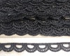 Кружево гипюр WX225-3 (черный) Цена за 15 ярд (13,7 м)