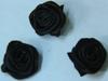 Розочки пришивные КЦ278-3 (черный) Цена за 10 шт