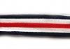 Лампасы тесьма LAM2-2sm-mix (темно синий, белый, красный)