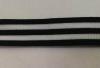 Лампасы тесьма LAMT1-2,5sm-3-1 (черный)