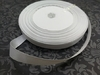Репсовая лента LR1-1 (белый) Цена за 1 или 10 упаковок по 22.86 метров