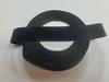 Репсовая лента LR20-3 (черный) Цена за 1 или 10 упаковок по 22.86 метров