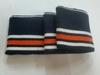 Манжеты MTK2-31-12-80см (темно синий с оранжевой и белыми полосками)