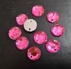 Стразы пришивные P8K08-34-100шт (розовый)