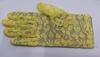 Перчатки кружевные PCHK22-8 (светло желтый) Цена за 1 пару