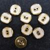 Пуговицы на два прокола PGP1-11mm-1m-41-25шт (белый)