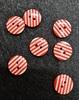 Пуговицы на два прокола PP024-4 (красный)