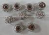 Бусины декоративные BPGD10-42 (серебро) Цена за 25 шт