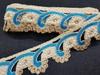 Тесьма декоративная TDS40-16 (голубой)