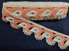 Тесьма декоративная TDS40-32 (оранжевый)