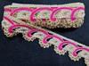 Тесьма декоративная TDS40-76 (ярко розовый)