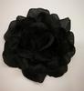 Цветы на булавке Ts1-3 (черный) Цена за 12 шт