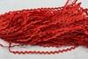 Тесьма вьюнок V05-4-50м (красный) Цена за 50 метров